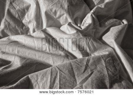 Wrinkled sheet
