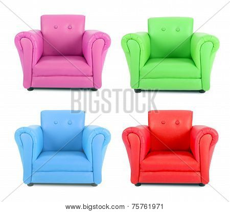 Four Armchairs