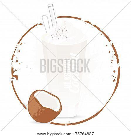 Milkshake coconut