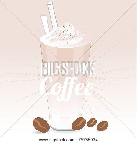 Milkshake coffee
