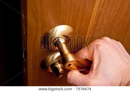 Opening Door