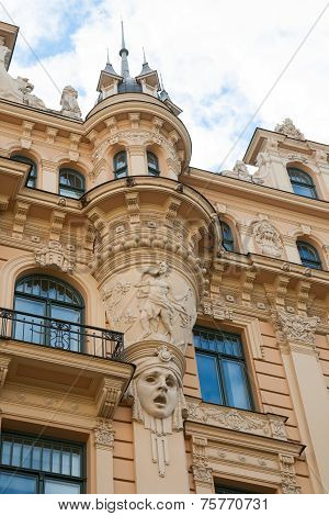 Art Nouveau Style, Riga