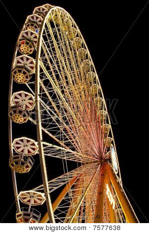 ferris wheel by night