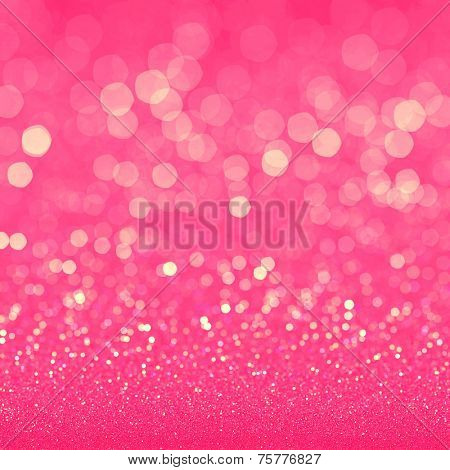 Pink glitter texture for retro background
