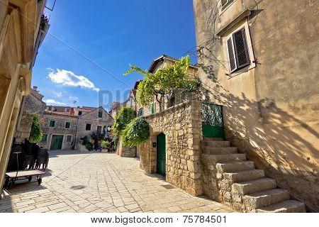 Old Stone Streets Of Stari Grad