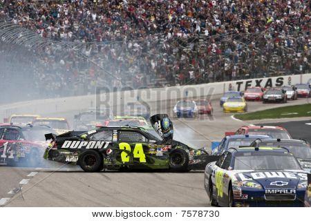 NASCAR: 19 de abril Samsung Mobile 500