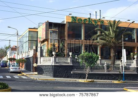 Norky's Fast Food Restaurant in Arequipa, Peru