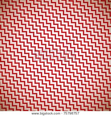Vintage zig zag pattern background