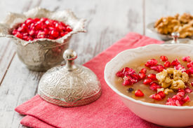 stock photo of noah  - Turkish dessert Ashura Noah