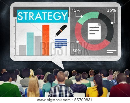 Strategy Analysis Business Marketing Concept
