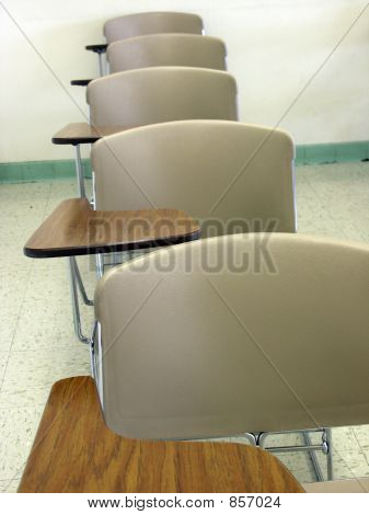 Desks in a Row