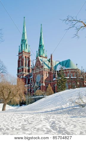 Helsinki. Finland. Saint John Church