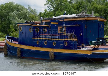 Erie Canal Tugboat