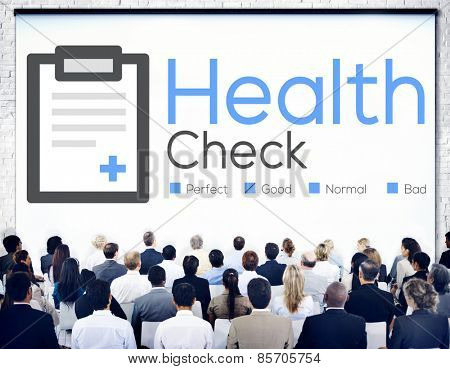Health Check Diagnosis Medical Condition Analysis Concept