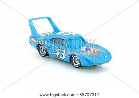 Strip The King Weathers Toy Car A Protagonist Of The Disney Pixar Feature Film Cars.