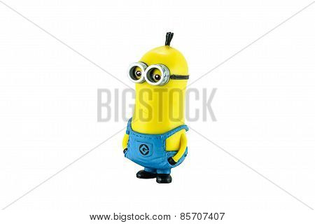 Minion Tim Figure Toy Character From Dispicable Me Animation Movie.