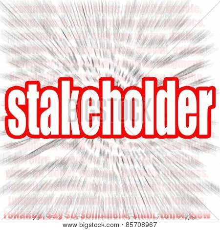 Stakeholder Word Cloud