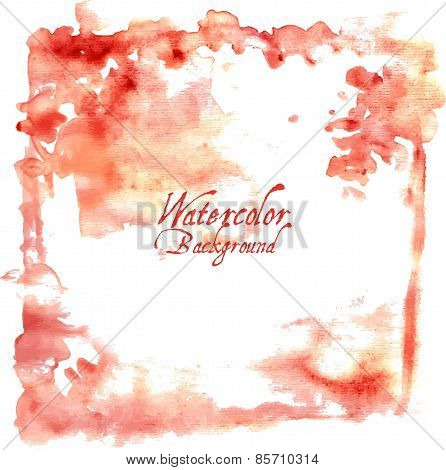 Watercolor Design Element