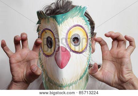 Owl Mask Man
