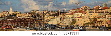 Evening Old Jaffa