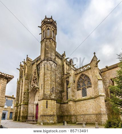 Saint Nazaire Basilica In Carcassonne - France