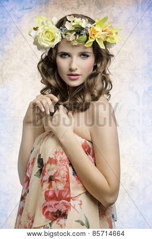 Sensual Spring Woman