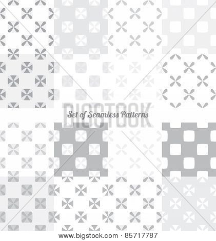 seamless patterns vector illustration