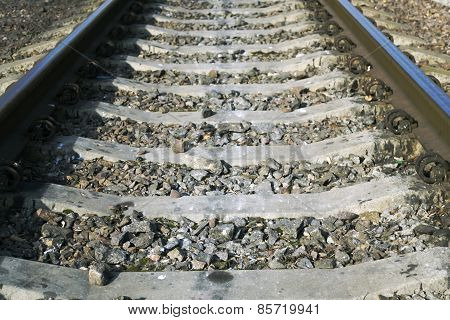 Picture Of Rails Close-up