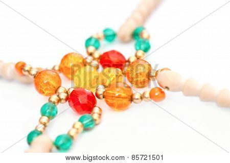 Decorative Bobbin Beads