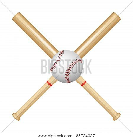 Baseball Bats And Ball