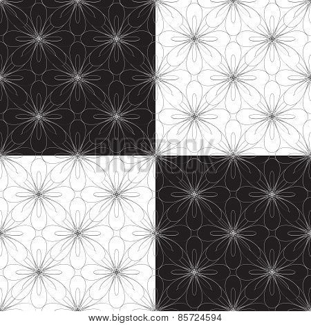 seamless geometric ornament vector illustration