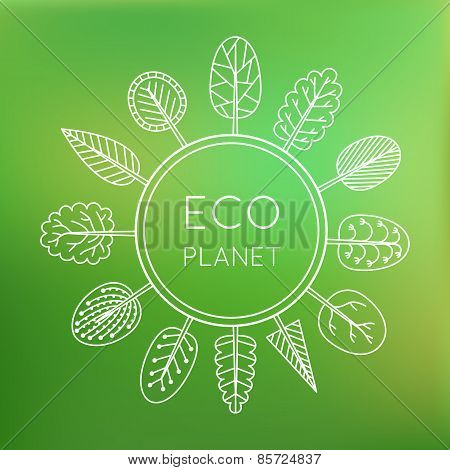 Ecology Concept, Eco Planet.