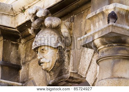 Wall Decoration High-relief. Dubrovnik