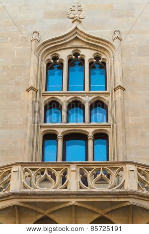Gothic-style window