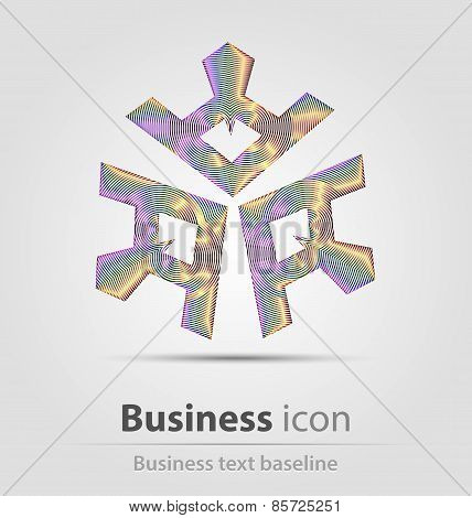 Originally created business icon