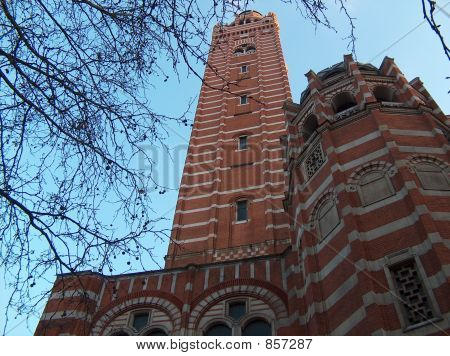 Tower of the Westminster Cathedral, London
