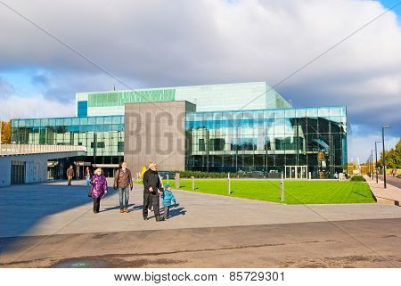 Helsinki. Finland. Music Centre