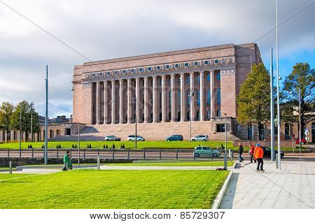 Helsinki. Finland. House of Parliament