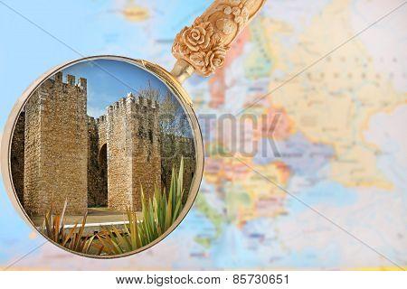 Lagos Fort Walls