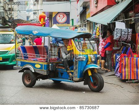 Traditional Taxi In Thailand