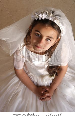 Girl Holy Communion