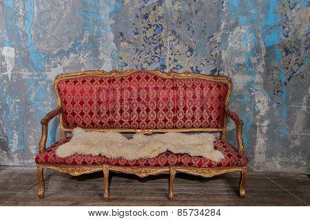 Old Abandoned Vintage Interior