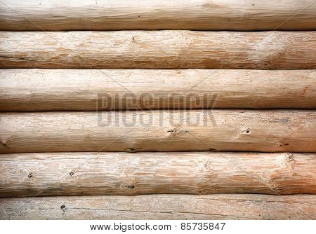 Wooden Wall. Picture Can Be Used As A Background