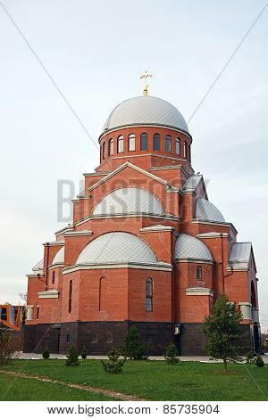 Sretensky Cathedral In The Saint-petersburg City, Russia