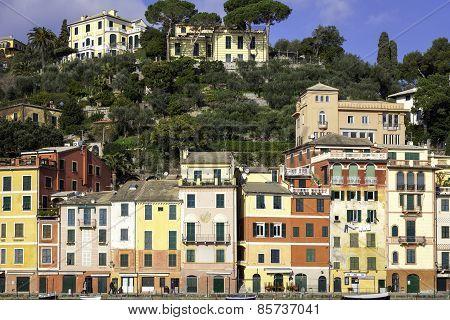 Portofino view. Color image