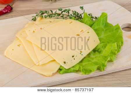 Sliced Cheddar