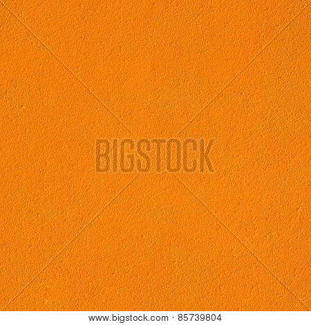 Texture Of Orange Cement Wall