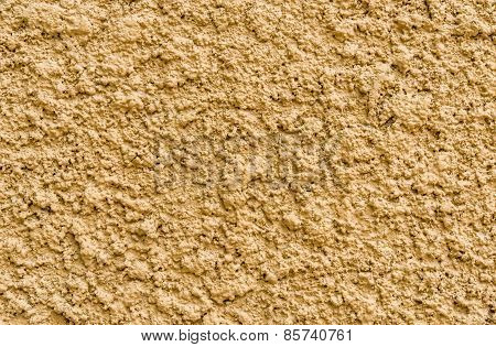 Texture Of Yellow Stucco Wall