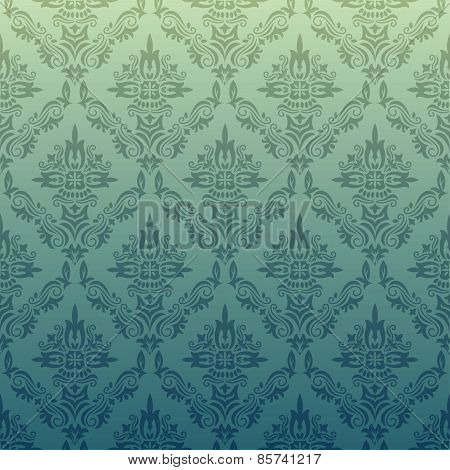 Vector Repeating Pattern In Vintage Style