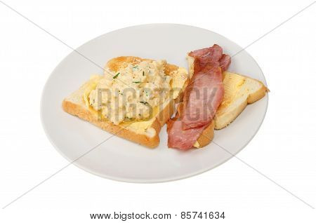 Scrambled Egg And Bacon